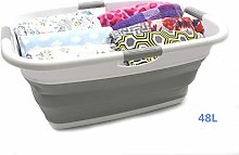 SAMMART Collapsible Rectangular Laundry Basket -