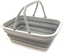 SAMMART Set of 2-9.2L (2.37Gallon) Collapsible Tub