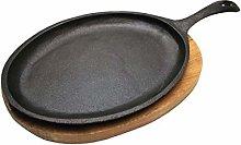 Samuel Groves - Cast Iron Sizzle Platter Pan - 140