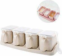 Samury Spice Jar Spice Seasoning Box Storage
