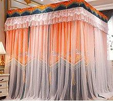 San Qing Mosquito Net Luxury Princess Four Corner