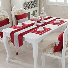 San Tungus Pack of 4 Wedding Table Placemats with