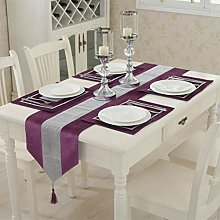 San Tungus Sequined Table Runner with Rhinestone,