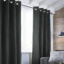 Sanborn Velvet Room Darkening Curtain (Set of 2)