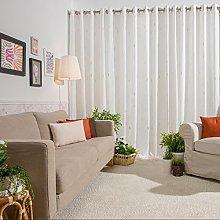 Sancarlos Ayora Curtain 140x0.2x270 cm Dark brown