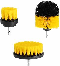 Sand Paper 3Pcs 2/3.5/4 Inch Yellow Electric Drill