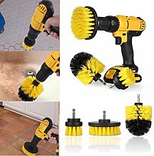 Sand Paper 3pcs Drill Scrubber Brush Cleaning