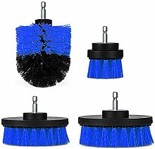 Sand Paper 4pcs 2/3.5/4/5 Inch Drill Brush Kit Tub