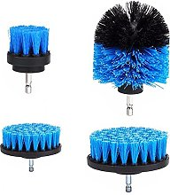 Sand Paper 4pcs Drill Scrubber Brush Cleaning