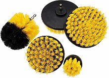 Sand Paper 5pcs Electric Drill Brush Tile Grout