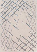 Sand Sketch Rug - 170 x 240 cm / Cream / Wool