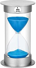 Sand Timer 1 Minute Hourglass Timer, Plastic Sand