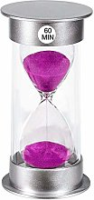 Sand Timer 60 Minutes Hourglass Timer, Small