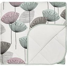 Sanderson Bedding Dandelion Clocks Quilted Throw,
