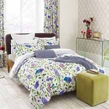 Sanderson Bedding Spring Flowers Lined Curtains,