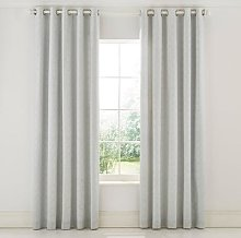 Sanderson - Chiswick Grove Lined Curtains - Silver
