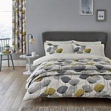 Sanderson Dandelion Clocks Bedding in Chartreuse