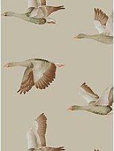 Sanderson Elysian Geese Wallpaper