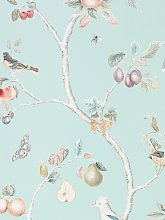 Sanderson Fruit Aviary Wallpaper