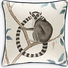 Sanderson Lemur Cushion, Blue