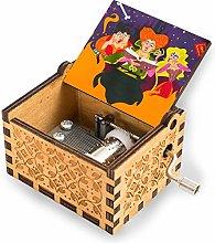 Sanderson Sisters Hocus Pocus Wooden Music Box
