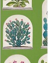 Sanderson Terrariums Wallpaper