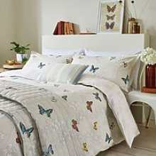 Sanderson Wisteria & Butterfly Double Duvet Cover