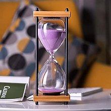 Sandglass 60 Minutes Timer, Wooden Sand Timer,
