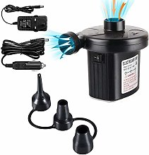 Sandis UK Plug Electric Air Pump Two-Way Air Pump