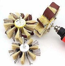 Sandpaper Sisal Polishing Flower Head Manual