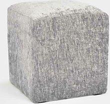 Sandwich Cube Fairmont Park Upholstery: Silver