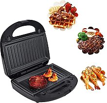 Sandwich Maker,6-In-1 Electric Waffle Maker ,