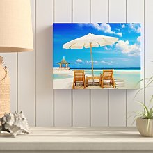 Sandy Beaches Photographic Print on Wrapped Canvas