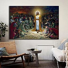 Sanguolun Print on canvas Jesus Christ Rescue