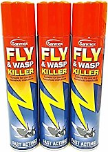 Sanmex 3 PCS FLY & WASP KILLER INSECTICIDE FAST