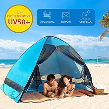 Sanmubo Pop Up Tent Beach Tent - Rated UPF 50+ For