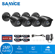 SANNCE 1080p Wired Home Security CCTV Camera with
