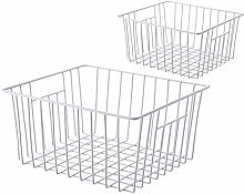 SANNO Freezer Wire Storage Organizer Baskets