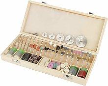 SANON 242Pcs Rotary Tool Accessory Set Kit for DIY