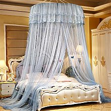 SanQing Mosquito net Luxury Princess bed, Round