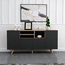 Sansa Multiuse Cabinet - with Doors, Shelves - for