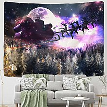 Santa Claus wall hanging hippie fireplace home