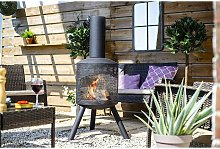 Santana Chimenea Fireplace Firepit Perforated