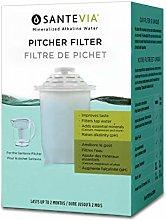Santevia p421 Pitcher Filter, BPA Free Plastic,
