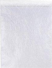 Santex Table runner Fanon Premium Fabric white