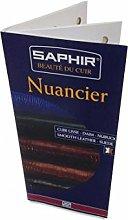 Saphir Shade Chart Nuancier Card