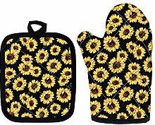 Sapotip Sunflower Pattern Extra Long Professional