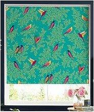 Sara Miller Green Birds 120X162 Roller Blind