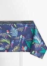 Sara Miller Parrots PVC Tablecloth Fabric, Navy