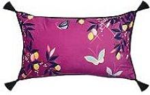 Sara Miller Pink Butterflies Cushion - Feather